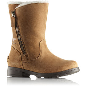 Sorel Emelie Foldover Bottes Enfant, camel brown/natural